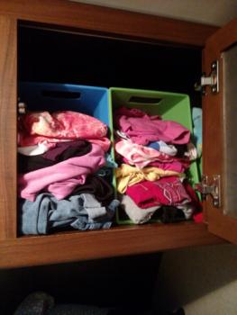 Clothesbasketstorage