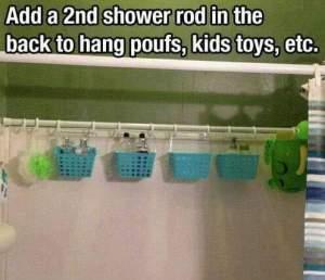 Hack shower