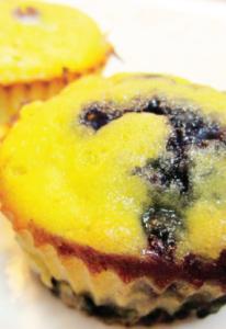 blueberry mango muffin