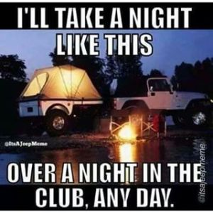 camping awesome