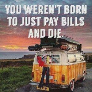 camping pay bills