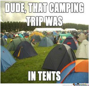 Camping tents