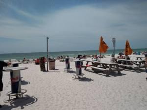 CW Caddys on the beach