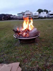 CW fire pit
