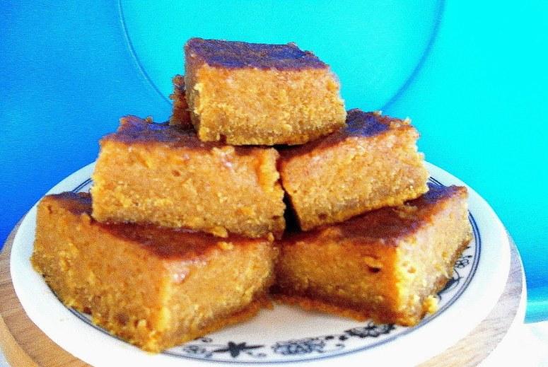 No Sugar Perfect Pumpkin Brownies