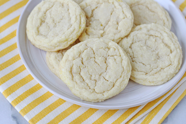 Sugar Cookies With a Lemony Twist!
