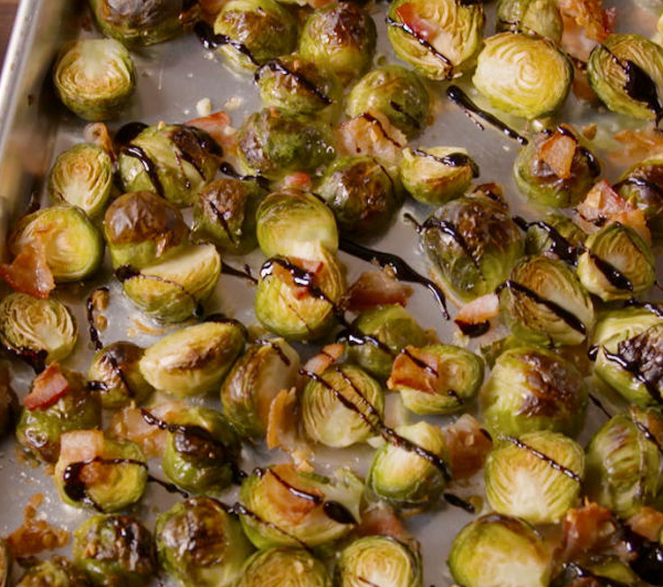 Bacon and Brussel Sprouts - An Addictive Dish!
